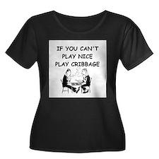 CRIBBAGE14 Plus Size T-Shirt