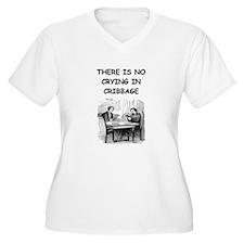 CRIBBAGE6 Plus Size T-Shirt