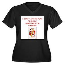 PINOCHLE3 Plus Size T-Shirt