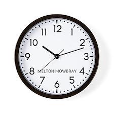 Melton Mowbray Newsroom Wall Clock