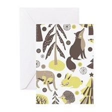 Woodland Animals Greeting Cards