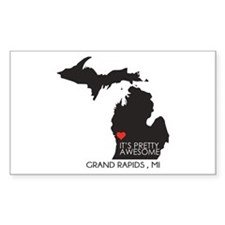 Grand Rapids - Sticker (rectangle)