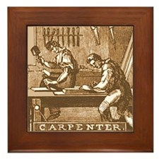 Carpenter Framed Tile