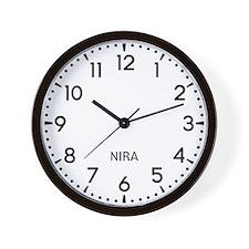 Nira Newsroom Wall Clock