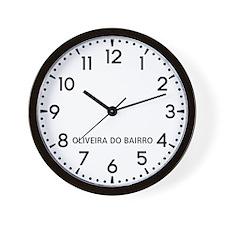 Oliveira Do Bairro Newsroom Wall Clock