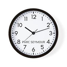 Parc Seymour Newsroom Wall Clock