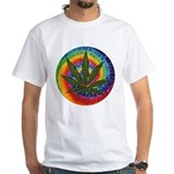 tie-dye Pot Leaf Shirt