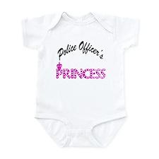 Police Officer's Princess Infant Bodysuit
