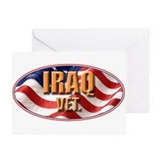 Iraq Vet Greeting Cards