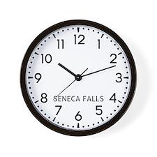 Seneca Falls Newsroom Wall Clock