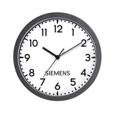 Siemens Newsroom Wall Clock