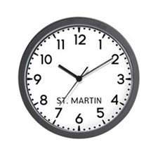 St. Martin Newsroom Wall Clock