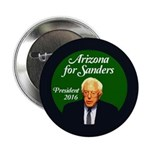 "Arizona For Sanders 2016 Campaign 2.25"" Butto"