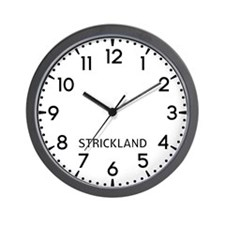 Strickland Newsroom Wall Clock