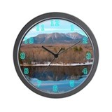 Mt. Katahdin in Spring Wall Clock