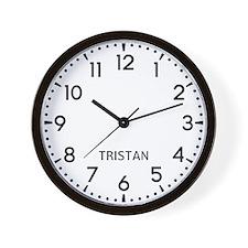 Tristan Newsroom Wall Clock