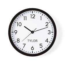 Tylor Newsroom Wall Clock