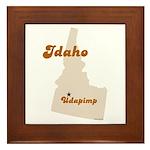 Udapimp Idaho Framed Tile