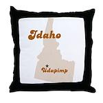 Udapimp Idaho Throw Pillow