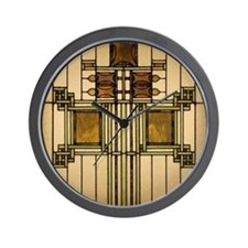 Prairie Glass Wall Clock