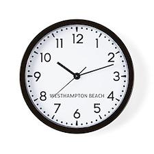 Westhampton Beach Newsroom Wall Clock