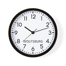 Wolfsburg Newsroom Wall Clock