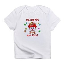 Clowns are Fun Infant T-Shirt