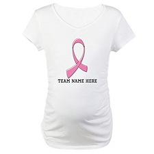 Breast Cancer Team Name Shirt