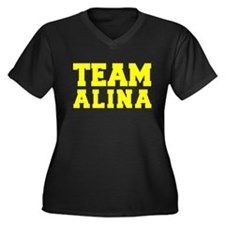TEAM ALINA Plus Size T-Shirt