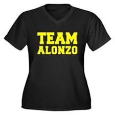 TEAM ALONZO Plus Size T-Shirt