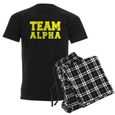 TEAM ALPHA Pajamas