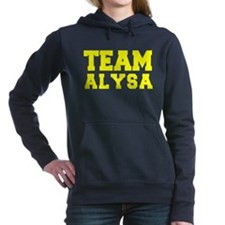 TEAM ALYSA Women's Hooded Sweatshirt