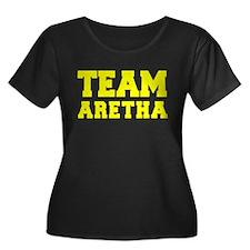 TEAM ARETHA Plus Size T-Shirt