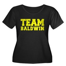 TEAM BALDWIN Plus Size T-Shirt