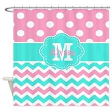 Teen Girls Shower Curtains | Teen Girls Fabric Shower Curtain Liner