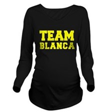 TEAM BLANCA Long Sleeve Maternity T-Shirt