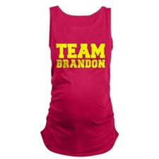 TEAM BRANDON Maternity Tank Top