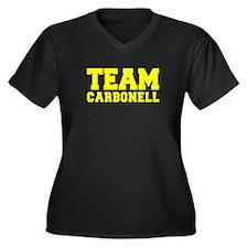 TEAM CARBONELL Plus Size T-Shirt