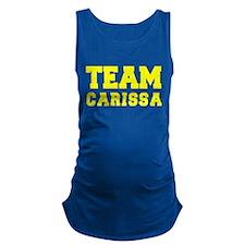 TEAM CARISSA Maternity Tank Top