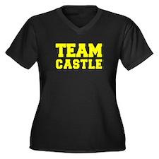 TEAM CASTLE Plus Size T-Shirt