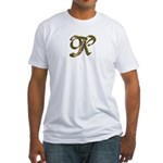 Phyllis Initial K Fitted T-Shirt