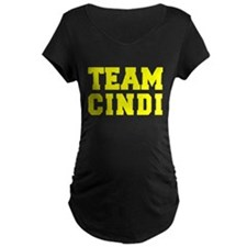TEAM CINDI Maternity T-Shirt