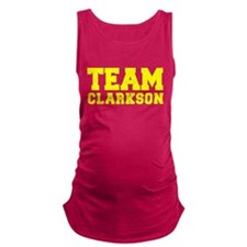 TEAM CLARKSON Maternity Tank Top