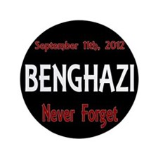 "Benghazi 3.5"" Button (100 pack)"