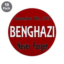 "Benghazi 3.5"" Button (10 pack)"