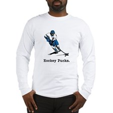 Hockey Pucks Long Sleeve T-Shirt
