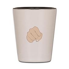Fist Pump Shot Glass