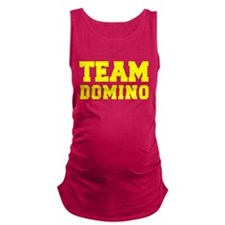 TEAM DOMINO Maternity Tank Top