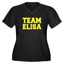 TEAM ELISA Plus Size T-Shirt