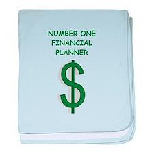 financial planning baby blanket